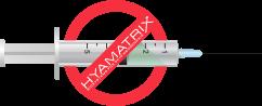 HYAMATRIX® Hyaluron tű nélküli plasztika